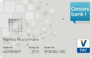 Consorsbank Giro Card