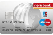 norisbank Maestro Card
