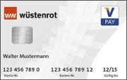 Wüstenrot V-Pay Girocard